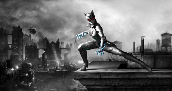 Render de Catwoman para el videojuego Batman: Arkham City Armored Edition (2012)