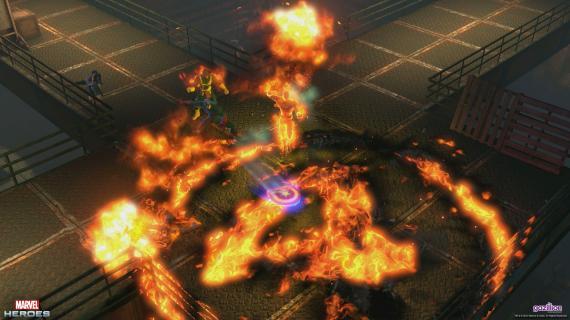 En videojuegos nuevas imágenes y personajes de marvel heroes