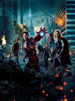 Imagen promocional de The Avengers / Los Vengadores (2012)