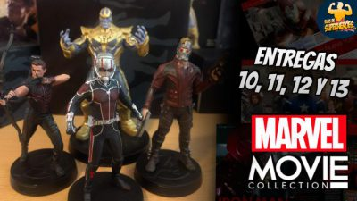 Imagen cabecera de entrada: [Coleccionables] Marvel Movie Collection: unboxing de las entregas 10-13 (Hawkeye, Ant-Man, Thanos y Star-Lord)