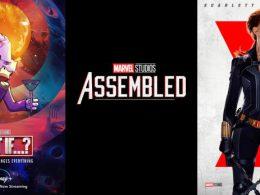 Imagen cabecera de entrada: [Series] En octubre llegarán los especiales de Assembled de Viuda Negra y de What if…?