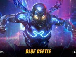 Imagen cabecera de entrada: [Películas] Resumen DC FanDome – Concept art del traje de Blue Beetle