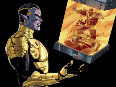 Imagen cabecera de entrada: [Cómics] Thane, el hijo de Thanos, regresa en la serie digital Thanos: A god up there listening