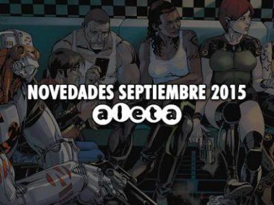 Imagen cabecera de entrada: [Cómics] Novedades de Aleta Ediciones para septiembre de 2015