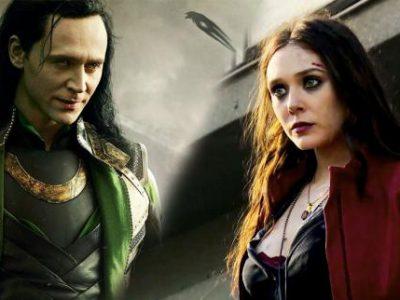 Imagen cabecera de entrada: [Off-Topic] [Cine] Tom Hiddleston y Elizabeth Olsen hablan de una pelea entre Loki y la Bruja Escarlata