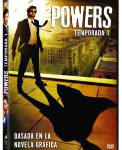 Imagen cabecera de entrada: [Series] La primera temporada de Powers en DVD y Blu-ray a partir del 2 diciembre