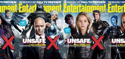 Imagen cabecera de entrada: [Cine] Cuatro portadas de X-Men: Apocalipsis en Entertainment Weekly, Bryan Singer habla de conclusión para la saga y nuevo comienzo y varios vídeos