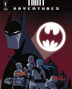 Imagen cabecera de entrada: [Cómics] Portadas y sinopsis de Batman / TMNT Adventures núm. 1