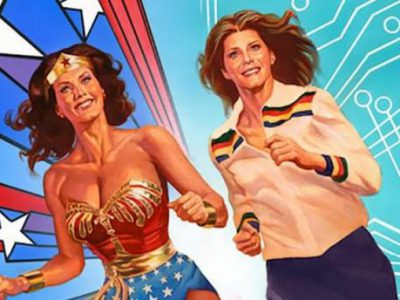 Imagen cabecera de entrada: [Cómics] Portada y sinopsis de Wonder Woman '77 Meets The Bionic Woman