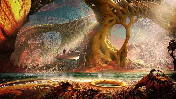 Imagen cabecera de entrada: [Cine] Más concept arts de Guardianes de la Galaxia 2: Ego, Howard el Pato, Nébula, Gamora