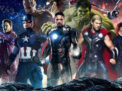Imagen cabecera de entrada: [Cine] Vistazo a Máquina de Guerra en el merchandising de Vengadores: Infinity War y figura de Thanos