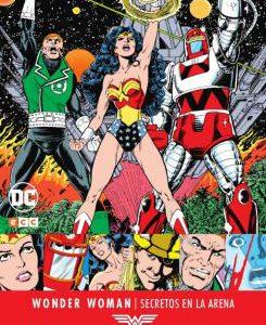 Imagen cabecera de entrada: [Reseñas] Grandes autores de Wonder Woman: George Pérez – Secretos en la arena