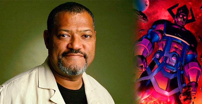 Imagen cabecera de entrada: [Cine] Laurence Fishburne quiere interpretar a Galactus en el universo cinematográfico de Marvel