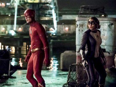Imagen cabecera de entrada: [Series] Barry y Nora en una nueva imagen de la quinta temporada de The Flash