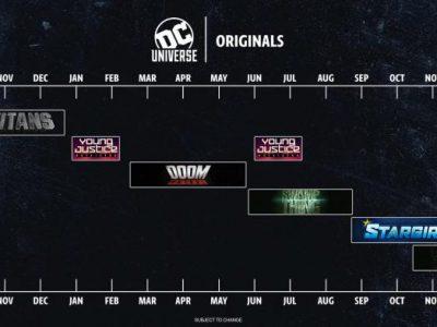 Imagen cabecera de entrada: [Series] [Animación] DC Universe publica el calendario de emisión de sus series para 2018 y 2019
