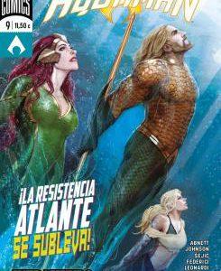 Imagen cabecera de entrada: [Reseñas] Aquaman núm. 23/ 9