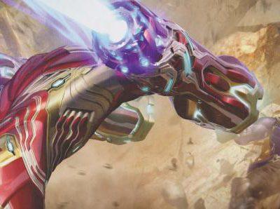 Imagen cabecera de entrada: [Cine] Máquina de Guerra iba a tener dos armaduras en Vengadores: Infinity War, Josh Brolin habla sobre Thanos y más artes conceptuales