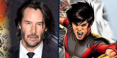 Imagen cabecera de entrada: [Cine] A Keanu Reeves le gustaría interpretar a Lobezno y Ludi Lin a Shang-Chi