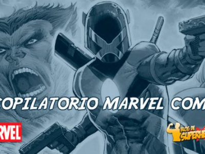Imagen cabecera de entrada: [Cómics] Recopilatorio Marvel Comics: primeros detalles de Major X de Rob Liefeld, regresa Black Spider-Man, Star Wars: Age of Rebellion y más