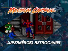 Imagen cabecera de entrada: [Videojuegos] Superhéroes RetroGames: Spiderman & Venom: Maximun Carnage