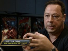 Imagen cabecera de entrada: [Series] Joe Quesada protagonizará el documental de Disney+ Storyboards