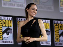 """Imagen cabecera de entrada: [Cine] Angelina Jolie muestra su entusiasmo por Eternals y su entrenamiento """"abarca de todo"""""""
