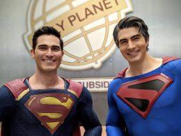 Imagen cabecera de entrada: [Series] Los Superman de Tyler Hoechlin y Brandon Routh juntos en una nueva imagen del set de Crisis on Infinite Earths