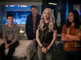 "Imagen cabecera de entrada: [Series ] Comentarios y audiencias de The Flash 6×02: ""A Flash of the Lightning"""