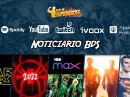 Imagen cabecera de entrada: [Podcast] Noticiario BdS – Programa 6: HBO Max, Un nuevo Universo 2, Ant-man 3 y Star Wars