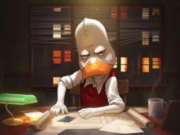 Imagen cabecera de entrada: [Animación] Kevin Smith confirma que de momento la serie de Howard el Pato sigue adelante