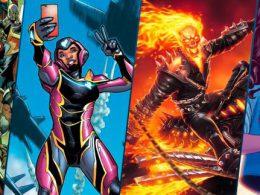 Imagen cabecera de entrada: [Series] Novedades de Invasión Secreta, Ironheart, Ghost Rider y America Chavez