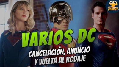 Imagen cabecera de entrada: SUPERGIRL cancelada, PEACEMAKER para HBO Max y rodaje de nuevas escenas para LIGA DE LA JUSTICIA