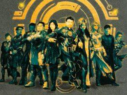 Imagen cabecera de entrada: [Cine] Ikaris y los Eternos en nuevos artes y descritos como raza alienígena
