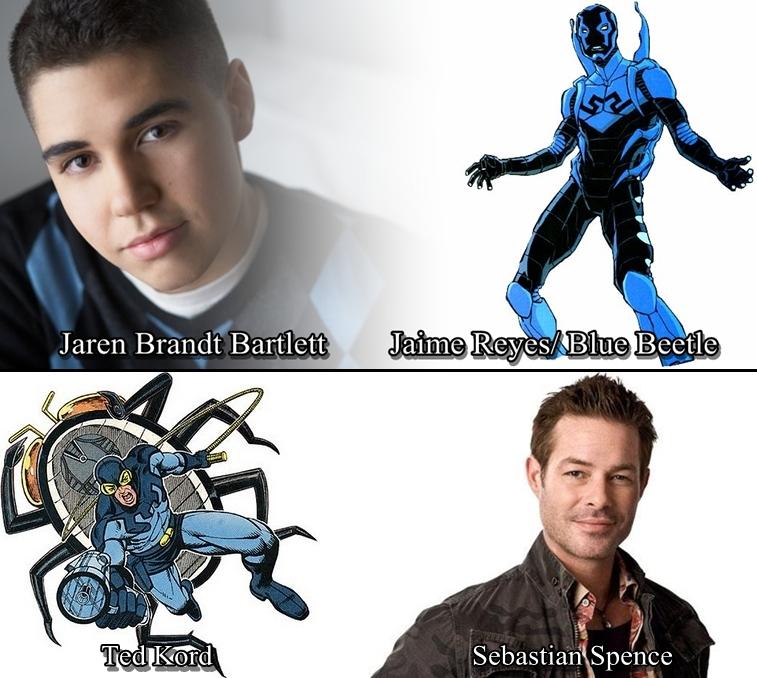 Imagen cabecera de entrada: [Series] Blue Beetle y Ted Kord ya tienen intérprete en Smallville