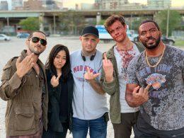Imagen cabecera de entrada: [Series] Primera imagen oficial de la producción de la segunda temporada de The Boys