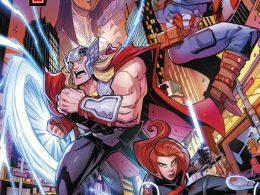 Imagen cabecera de entrada: [Reseñas] Marvel Action. Los Vengadores, núm. 2: El Rubí Emersión
