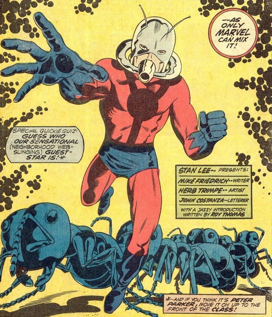 Imagen cabecera de entrada: Ant-Man no estará en The Avengers