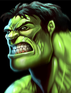 Fan-art de Hulk