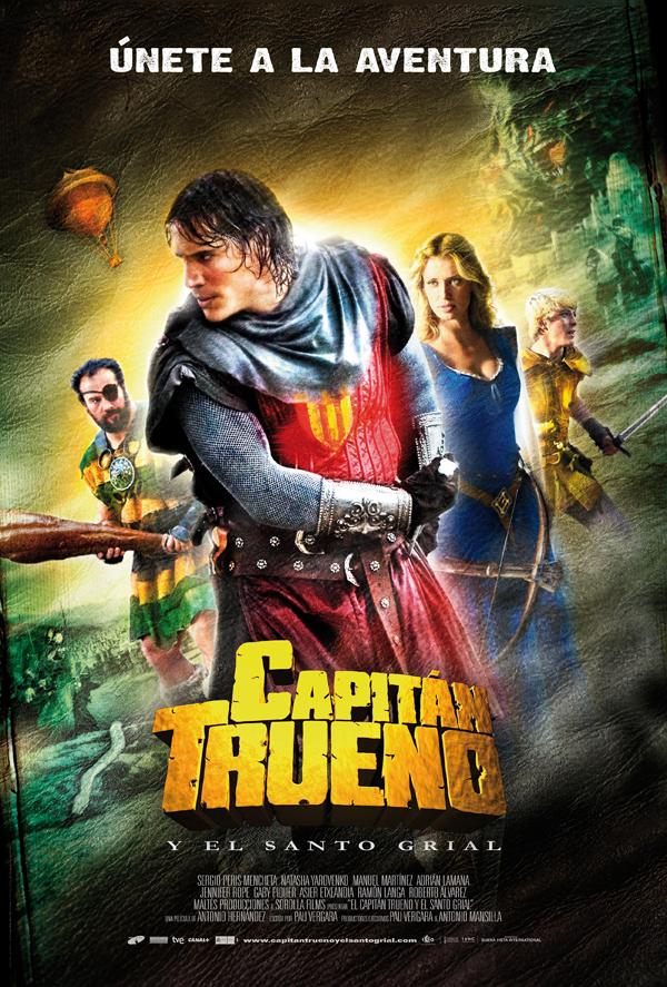 Imagen cabecera de entrada: [Cine] Segundo póster de Capitán Trueno y el Santo Grial