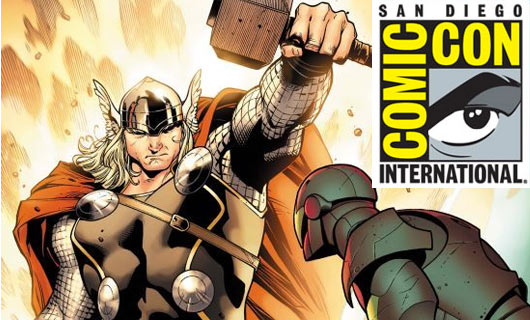 Iron Man 2 en la Comic Con, pero Thor no