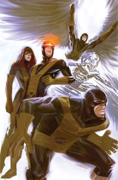 Portada cómic X-Men First Class