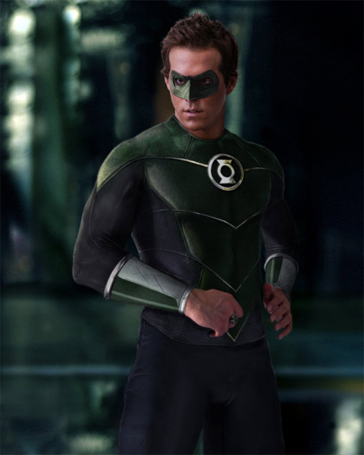 [Fan-Art] Ryan Reynolds como Green Lantern