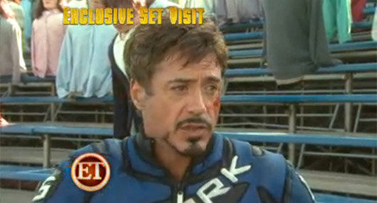 Vídeo del set de rodaje de Iron Man 2