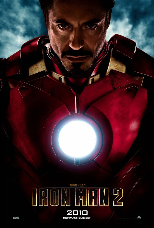 Poster internacional de Iron Man 2