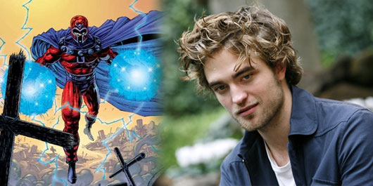 ¿Robert Pattinson el posible Magneto?
