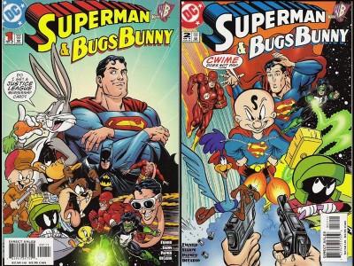 Crossover entre Superman y Bugs Bunny