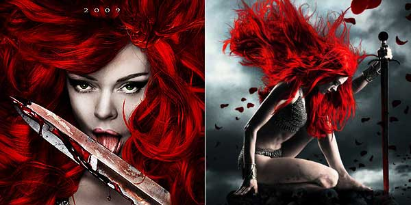 Fan-Art de Rose McGowan como Red Sonja