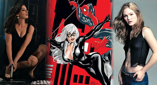 Anne Hathaway y Julia Stiles rumoreadas como Black Cat
