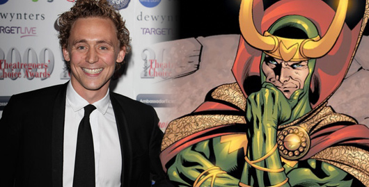 Tom Hiddleston será Loki en Thor