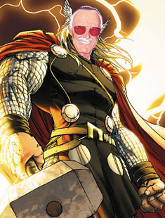 El posible cameo de Stan Lee en Thor